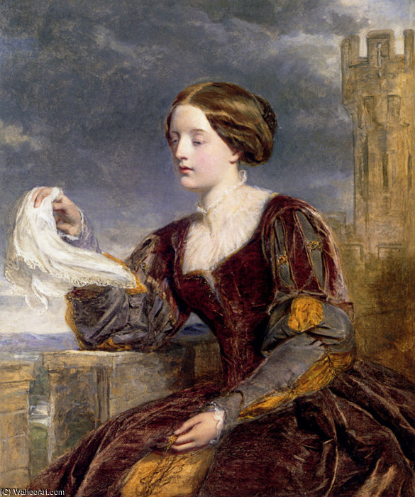 The signal by William Powell Frith (1819-1909, United Kingdom)