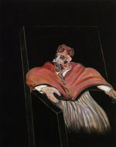 Francis Bacon - Study for a Pope III,