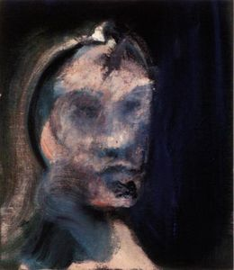 Francis Bacon - Study for a Portrait [looking left],