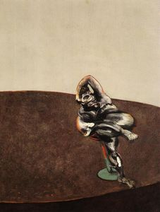 Francis Bacon - Three Figures in a Room, right