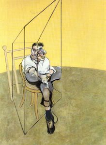 Francis Bacon - Three Studies of Lucian Freud, left