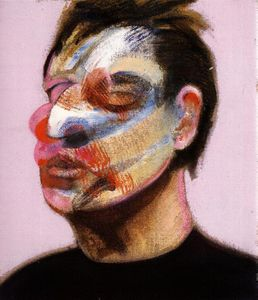 Francis Bacon - Two Studies for a Self-Portrait, right panel