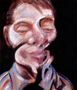 Francis Bacon - Two Studies for a Self-Portrait, left,