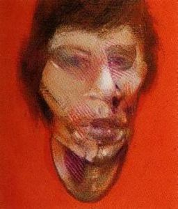 Francis Bacon - 3 Studies for a Portrait of Mick Jagger, left