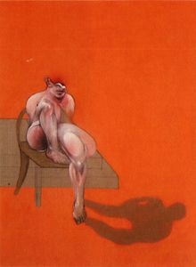 Francis Bacon - Triptych, left