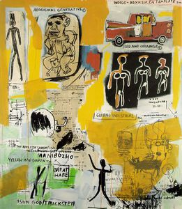 Jean Michel Basquiat - Aboriginal, Estate of Jean -