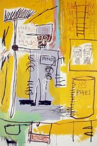 Jean Michel Basquiat - Ashes, The Museum of Contem
