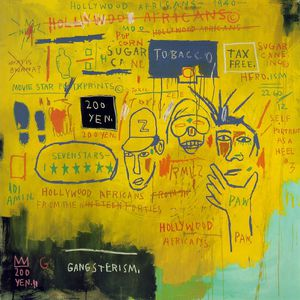 Jean Michel Basquiat - Hollywood africans, Whitney