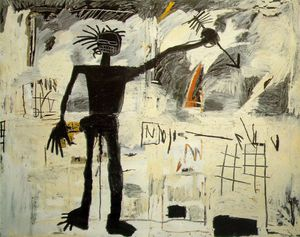 Jean Michel Basquiat - Self-portrait coll.franzen