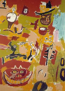 Jean Michel Basquiat - Wine of Babylon, Collection