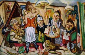 Max Beckmann - Family Picture, Moma NY