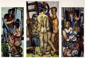 Max Beckmann - The argonauts, Private collection, New