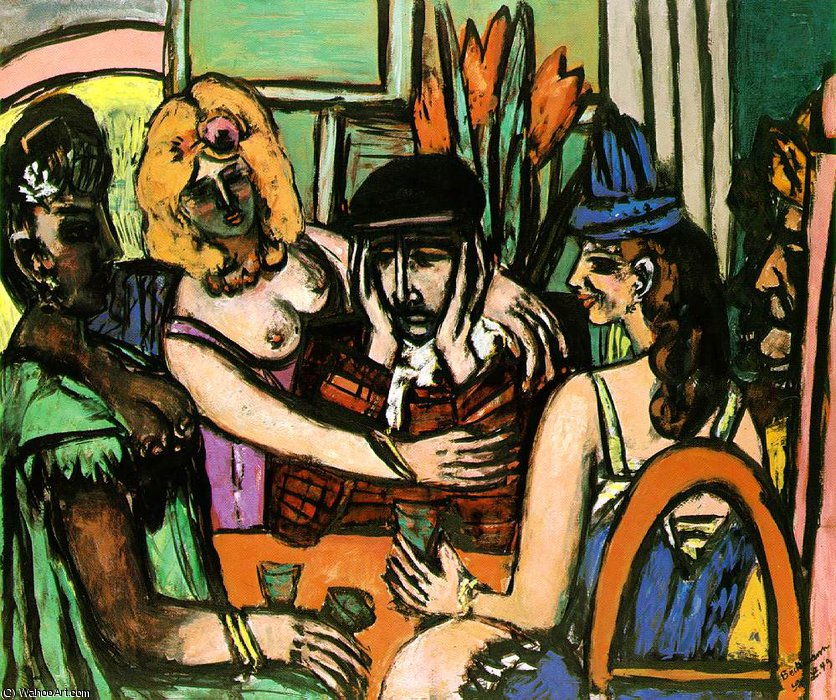 The prodigal son, Niedersachsische Landes, 1949 by Max Beckmann (1884-1950, Germany) | Art Reproduction | WahooArt.com