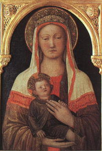 Jacopo Bellini - madonna and child, uffizi