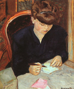 Pierre Bonnard - The Letter, National Gallery of Art at Washing