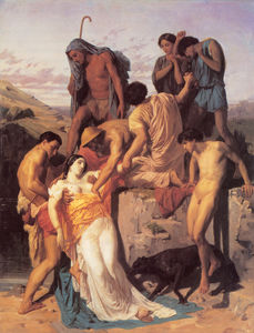 François Boucher - Bouguereau Zenobia Found by Shepherds