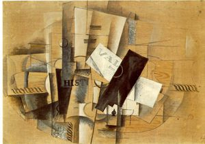 Georges Braque - Pedestal table, Kunstmuseum Basel