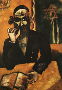 Marc Chagall - The Pinch of Snuff, oil on canvas, private col