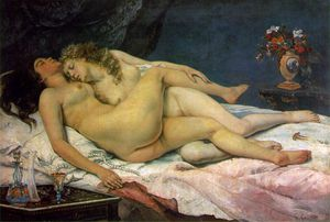 Gustave Courbet - The sleepers Musee du Petit Palais, Paris