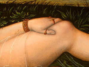 Lucas Cranach The Elder - The Nymph of the Spring, after Detalj - (4,)