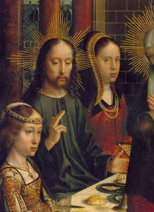 Gerard David - The marriage at Cana, ca Detalj,