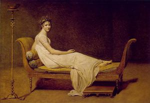 Jacques Louis David - Madame Recamier, Louvre
