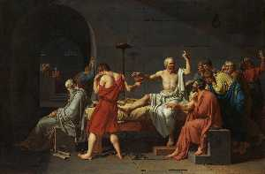 Jacques Louis David - The Death of Socrates, Metropolitan NY