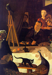 André Derain - The Painter and his Family, Tate Gallery, Londo