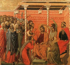 Duccio Di Buoninsegna - Crown of Thorns, Museo dell'Opera del Duomo, Siena.