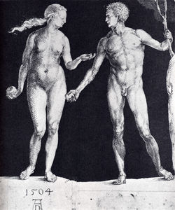 Albrecht Durer - Idealistic male and female figures