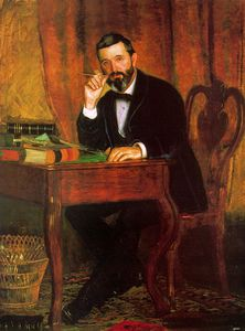 Thomas Eakins - Dr. Horatio C. Wood, oil on canvas, The Detroit