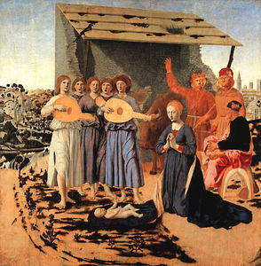 Piero Della Francesca - Nativity, NG LONDON