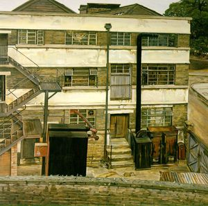 Lucian Freud - Factory london