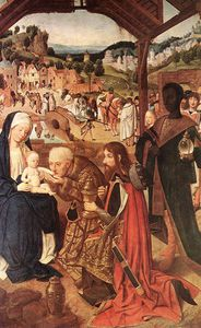 Geertgen Tot Sint Jans - Adoration of the magi, 148-85, Národn