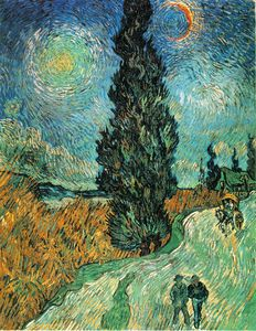 Vincent Van Gogh - Cypress star