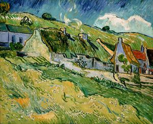 Vincent Van Gogh - Cottages, eremitaget