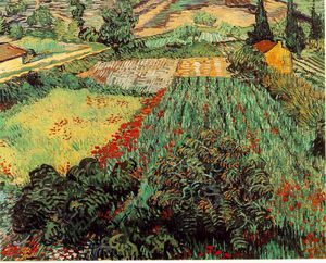 Vincent Van Gogh - Field with poppies, Kunsthalle Brem
