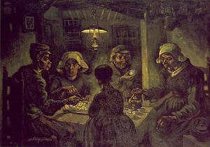 Vincent Van Gogh - The potato eaters, Vincent van Gog
