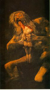 Francisco De Goya - Saturn son