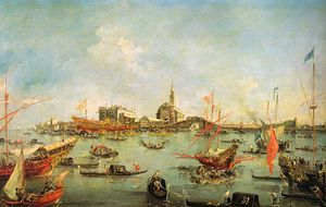 Francesco Lazzaro Guardi - Untitled (534)