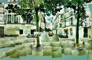 David Hockney - Furstenberg paris