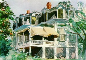 Edward Hopper - Mansard roof