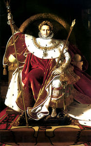 Jean Auguste Dominique Ingres - Napoleon throne
