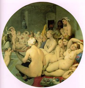 Jean Auguste Dominique Ingres - Turkish bath
