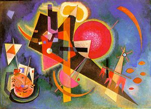 Wassily Kandinsky - In the blue, Kunstsammlung Nordrh