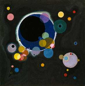 Wassily Kandinsky - Several Circles, Solomon R. G