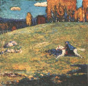 Wassily Kandinsky - The blue rider, Ernst Bührle Collection, Zür