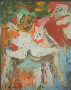 Willem De Kooning - The visit tate gallery