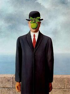 Rene Magritte - The Son of the Man