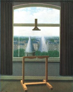 Rene Magritte - Euclidean walks,1955, minneapolis inst.of arts